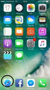 chặn cập ios 12 trên iphone