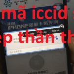 lấy mã iccid cho sim ghép thần thánh 4g