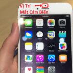 iPhone hỏng cảm biến ánh sáng
