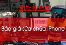 Bao Gia Sua Chua Iphone Tai Ha Noi