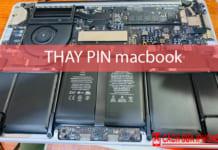 Thay Pin Mac Book