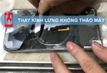 Thay Kính Lưng Iphone X Không Cần Bóc Máy