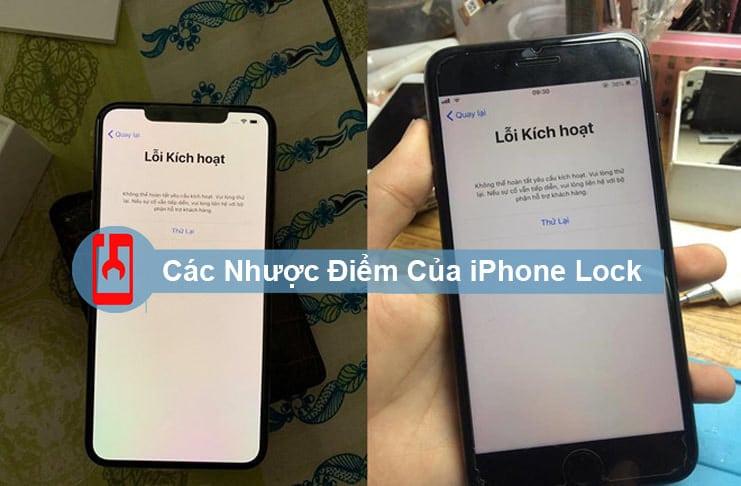Các Nhược Điểm Của Iphone Lock
