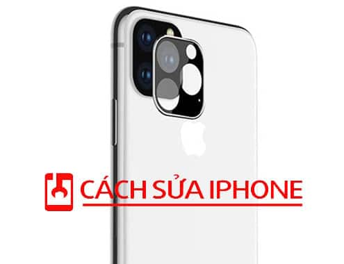 Miếng Dán Cường Lực Bảo Vệ Mặt Kính Camera Iphone 11 Pro Max