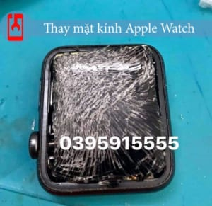 Apple Watch bị vỡ