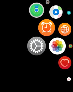 Truy cập vào ứng dụng cài đặt trên Apple Watch