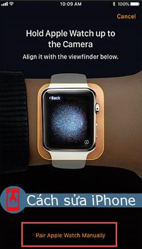 Ghép nối Apple Watch bằng cách thủ công