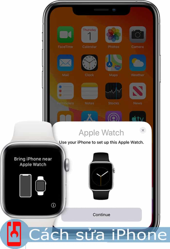 Ghép nối Apple Watch với iPhone
