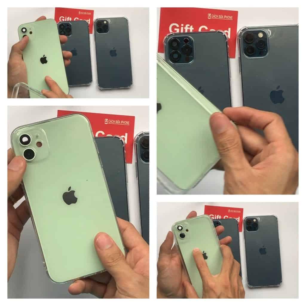 Ốp ĐỘ Dành cho iPhone XR độ iPhone 12, iPhone X XS độ iPhone 12 Pro , iPhone XS Max độ iPhone 12 Pro Max 2