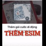 HƯỚNG DẪN TỰ ADD ESIM CHO IPHONE LOCK CHI TIẾT NHẤT
